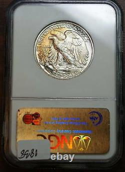 1939-S Walking Liberty Half Dollar NGC MS-66 Jules Reiver Collection (Better)