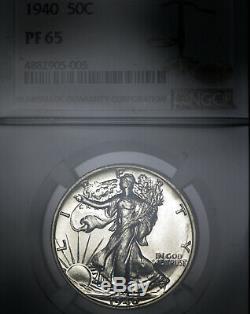 1940 PF65 Walking Liberty Half 50c Proof, NGC Graded PR65