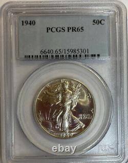 1940 Walking Liberty Half Dollar PCGS PR65 Proof