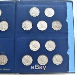 1941- 47 Silver Walking Liberty Half Dollar (20 Coin) Short Set