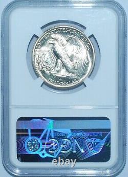 1941 NGC MS67 Walking Liberty Half Dollar