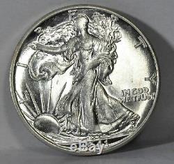 1941 S Walking Liberty Half Dollar Gem BU