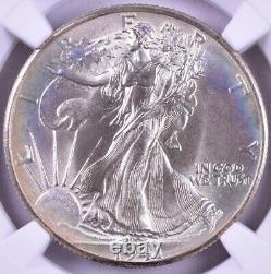 1941 Walking Liberty Silver Half Dollar NGC MS67