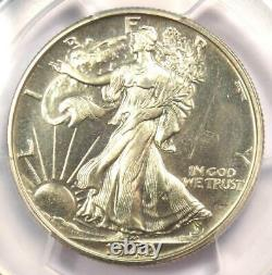 1942 PROOF Walking Liberty Half Dollar 50C PCGS Proof Details (PR/PF) Rare