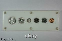 1942 Proof Set RARE 6 Six Coins Walking Liberty Half Dollar Uncirculated SKU-1
