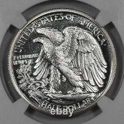 1942 Proof Walking Liberty Half Dollar 50c Ngc Certified Pf 67 Silver (005)