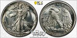 1942 Walking Liberty Half PCGS PROOF-67 CAC WHITE and Original cks