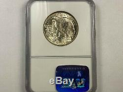 1942 Walking Liberty Silver Half Dollar NGC Graded MS-65