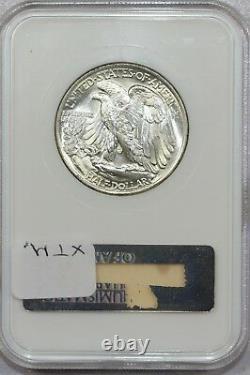 1943 P Walking Liberty Half Dollar Ms65 Ngc Old Holder Under Graded Imo