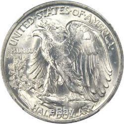 1945 S 50c Liberty Walking Silver Half Dollar US Coin MS 65 NGC