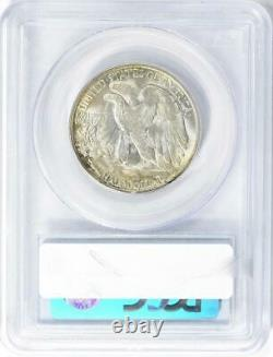 1945-S Walking Liberty Half Dollar PCGS MS-66 CAC Mint State 66 CAC