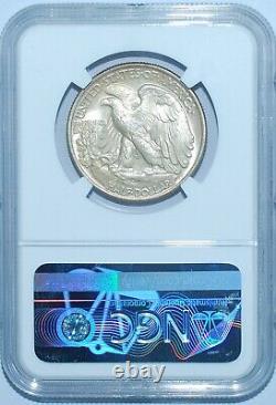 1947 NGC MS66 CAC Walking Liberty Half Dollar