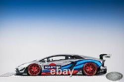 1/18 Davis & Giovanni Liberty Walk LB Performance Lamborghini Aventador Martini