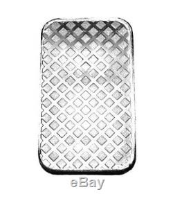 1 Troy Ounce. 999 Fine Silver Walking Liberty Bar Bu + 99.9% 24k Gold $100 Bill