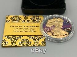2016 UNIVERSE American Silver. 999 Eagle Walking Liberty Dollar Coin 1 oz #041