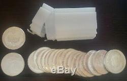 20 1 oz. 999 Fine Silver Walking Liberty Type Round. Full tube of 20