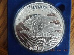 32 oz. 999 Silver WALKING LIBERTY 1994 WASHINGTON MINT ART ROUND 1000 Grams
