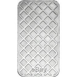 5 oz. Highland Mint Silver Bar Walking Liberty Design. 999+ Fine