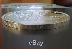 8 oz. 999 Silver WALKING LIBERTY 1992 IN CAPSULE WASHINGTON MINT ART 3176 (1)