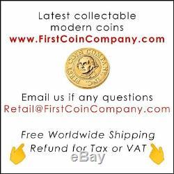 American Silver Eagle COVI VIRUS MONA LISA F COVER $1 Walking Liberty 2020 Coin