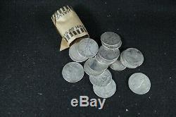 Full Roll 90% Silver Walking Liberty Half Dollars All 1940's