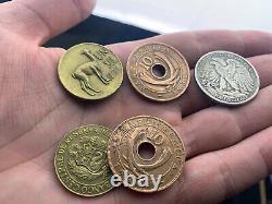 JOHNSON Walking Liberty Custom CSB- Copper Silver Brass Gimmick Coin Magic
