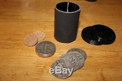 John Ramsay Cylinder & Coins Complete Ensemble 90% Walking Liberty Silver Halve