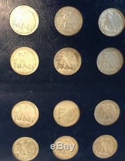 Liberty Walking Half Dollar Set Complete (1916-1947)