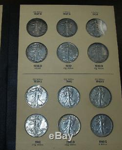 Nearly Complete Set of Walking Liberty Half Dollars! 1916-1947