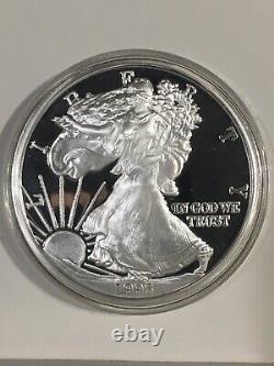ONE POUND SILVER EAGLE. 999+ FINE SILVER Walking Liberty ONE TROY POUND Proof