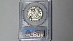 PCGS MS65 CAC 1946-D Walking Liberty Silver Half Dollar Denver Mint