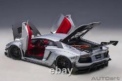 Preorder Autoart 79181 118 Lamborghini Aventador Liberty Walk Lb-works (silver)