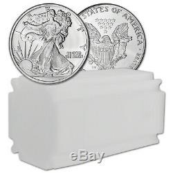 TWENTY (20) 1 oz Highland Mint Silver Round Walking Liberty. 999 Roll Tube of 20