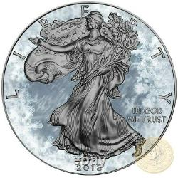 USA ARCTIC BLAST American Silver Eagle 2018 Walking Liberty $1 Dollar Coin 1 oz