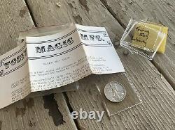 Vintage Paul Tosi Silver Walking Liberty Folding Half Dollar/Coin Magic RARE