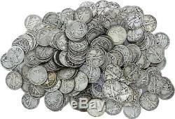 Walking Liberty Half Dollars $5 Face, 90% Silver Coin Lot, Circ, Choose How Many
