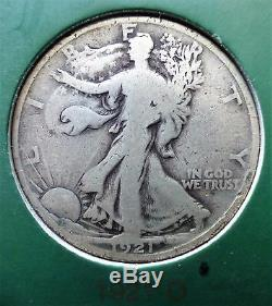 Walking Liberty Half set with1921-D in PCGSVG-08+1946 ddr 66 high grade Coin Set