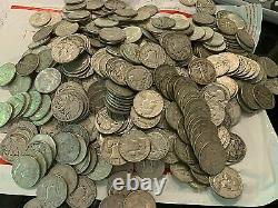 Walking Liberty half dollar roll 1916-1947 full roll 20 coins Mixed 90% Silver